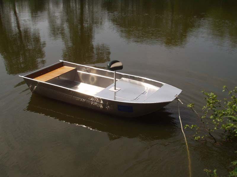 Barco de alumínio para pesca (4)