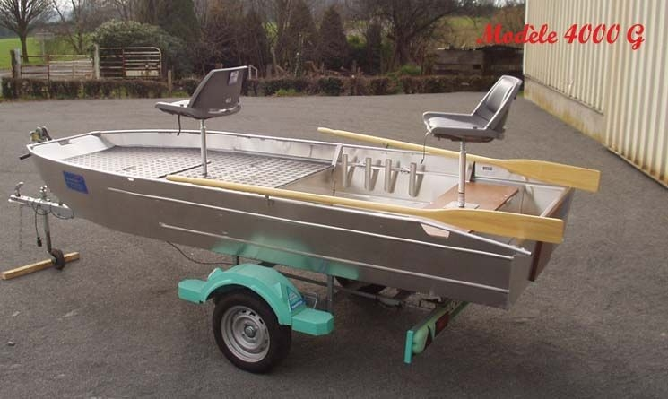 Barco de alumínio para pesca (56)