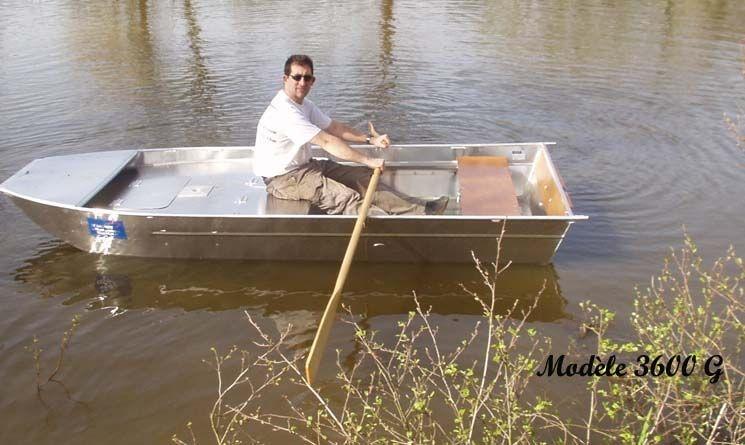 Barco de alumínio para pesca (60)