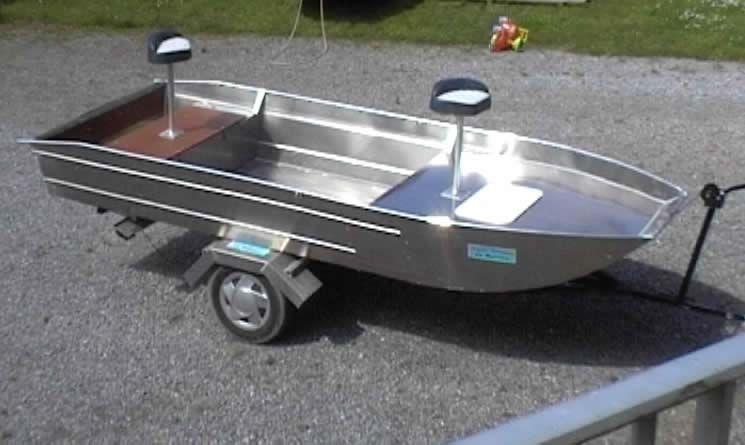 Barco de alumínio para pesca (68)