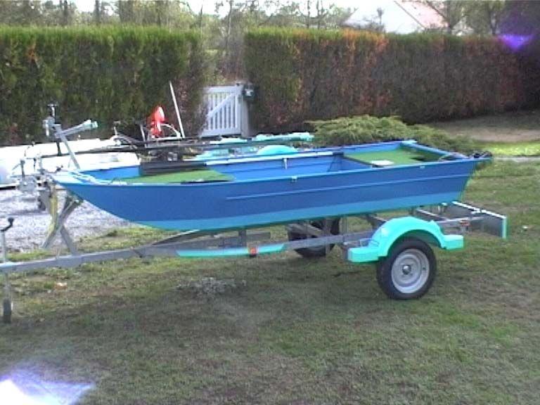 Barco de alumínio para pesca (70)