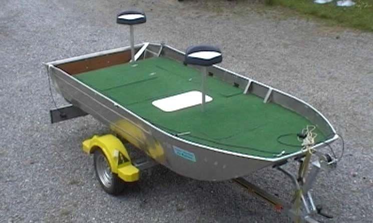 Barco de alumínio para pesca (75)