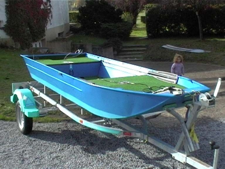 Barco de alumínio para pesca (79)