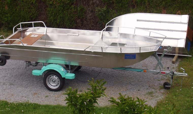 Barco de alumínio para pesca (83)
