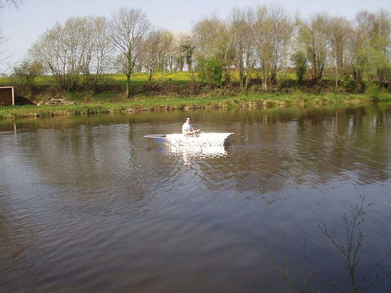 Barco de alumínio para pesca (91)