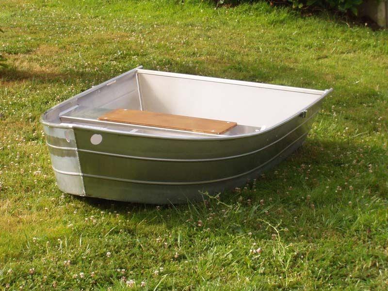 Barco de pesca em alumínio único (16)