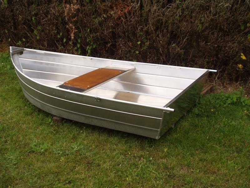 Barco de pesca em alumínio único (18)