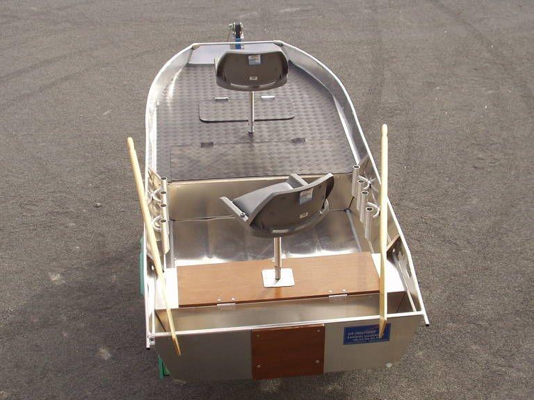 Barco de alumínio para pesca (17)