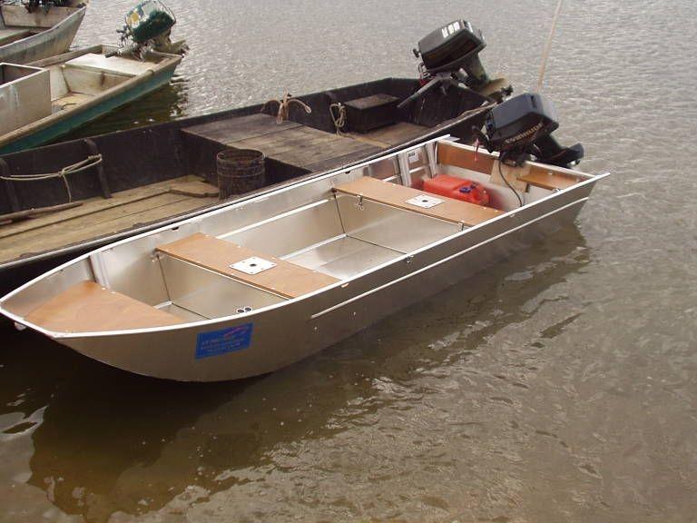 Barco de alumínio para pesca (8)